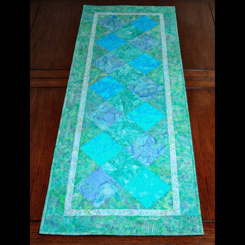 Batik Table Runner 54